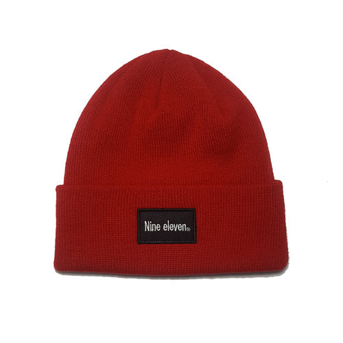 Basic logo beanie - Red [40% 할인]