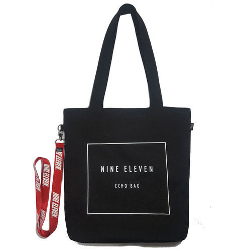 [40% 할인]Basic logo Echo bag - Black