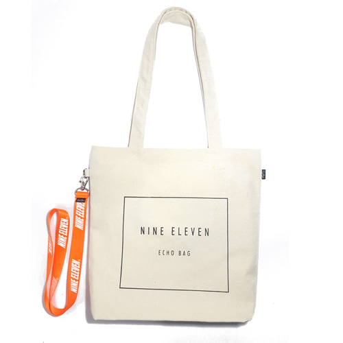 [40%할인]Basic logo Echo bag - Beige