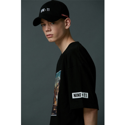 [60% sale] NINE-11 logo ball cap - B