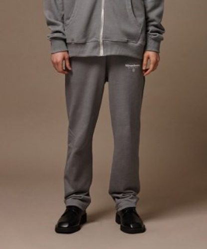PIGMENT WASHED TRAINING PANTS (GREY)