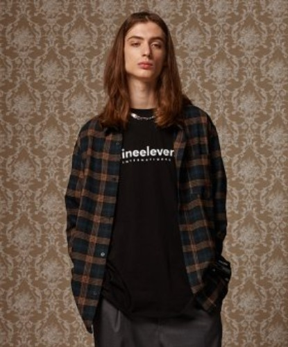 SEMI OVER CHECK SHIRT (DARK GREEN)